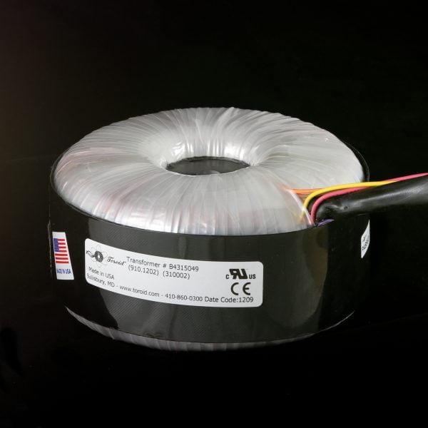 Medical Isolation Transformer P/N 906.1202 - 600VA Dual Secondaries 2x120V