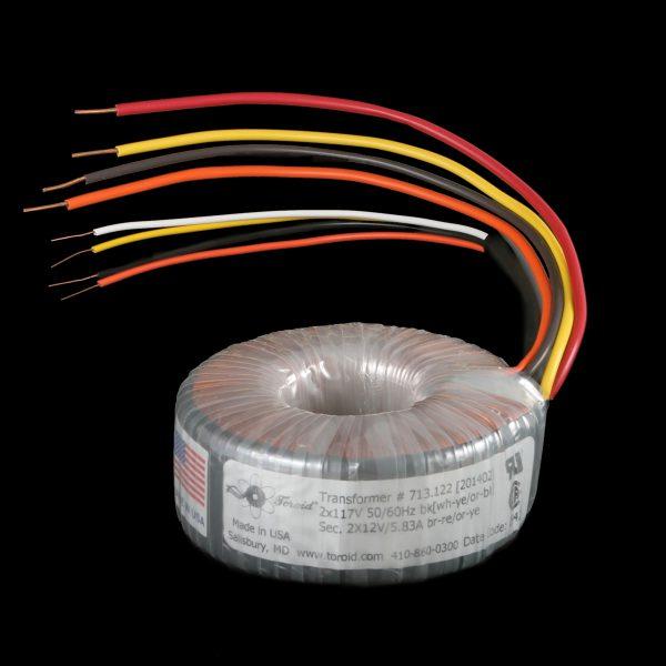 Rectifier Transformer P/N 713.282 - 150VA 117/234V 50-60Hz Output
